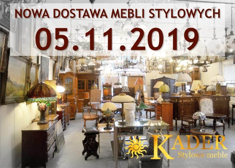 Nowa dostawa mebli stylowych KADER Grodzisk Mazowiecki - meble stylowe, meble antyczne, zegary antyczne, figurki, ceramika angielska