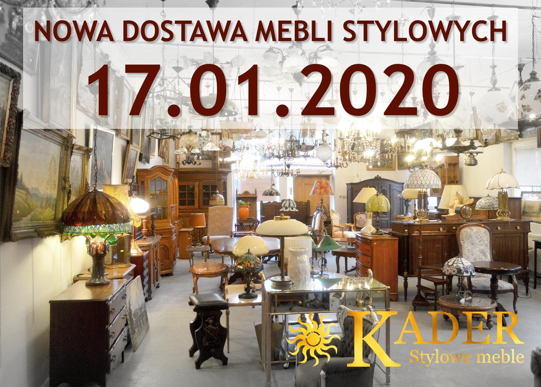 Nowa dostawa mebli stylowych KADER Grodzisk Mazowiecki 17.01.2020