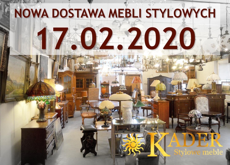 Nowa dostawa mebli stylowych KADER Grodzisk Mazowicki 17.02.2020