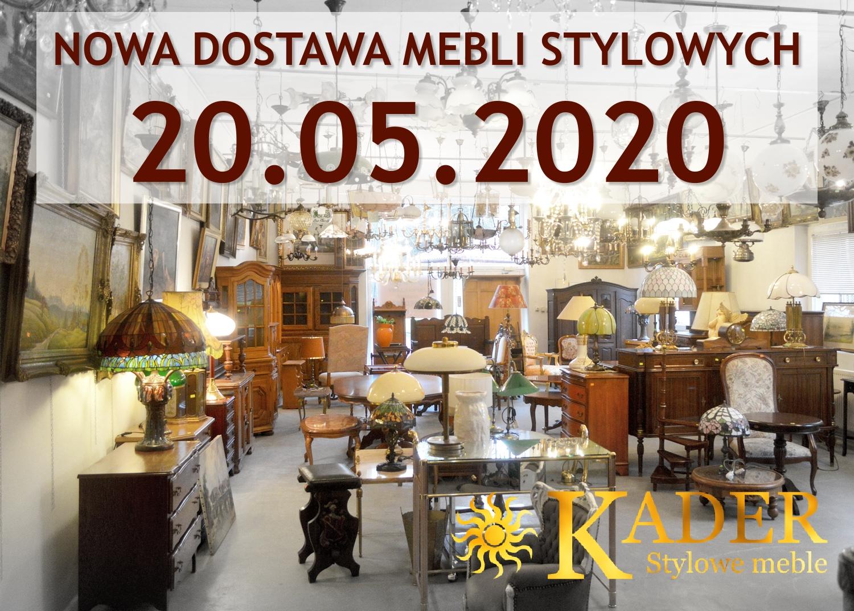 Nowa dostawa mebli stylowych 20.05.2020 - KADER Grodzisk Mazowiecki