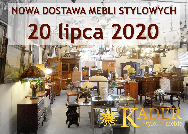 Nowa dostawa mebli stylowych 20.07.2020 - KADER Grodzisk Mazowiecki