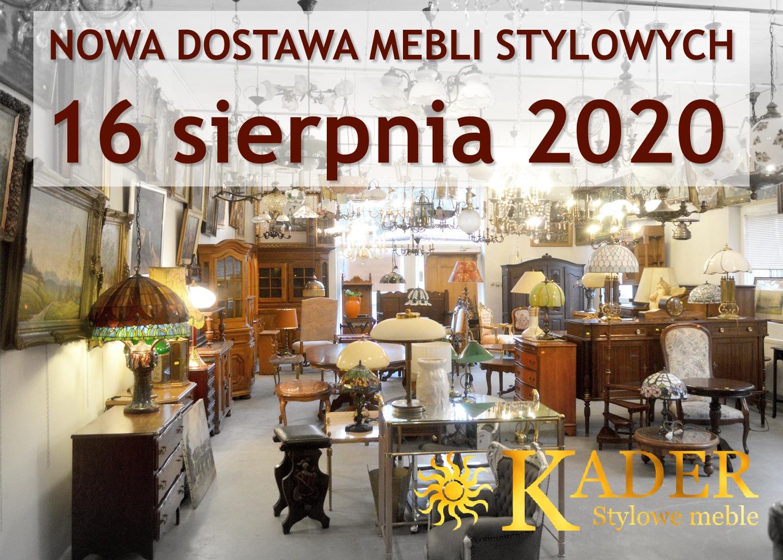 Nowa dostawa mebli stylowych i kolonialnych 16 sierpnia 2020 - KADER Grodzisk Mazowiecki