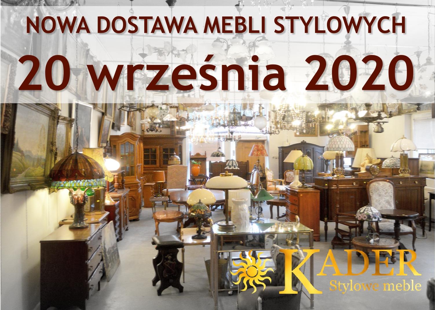 Nowa dostawa mebli stylowych, kolonialnych, obrazów i zegarów - KADER Grodzisk Mazowiecki