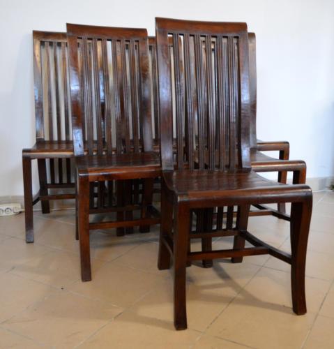 Krzesła teak jadalnia  - meble stylowe, meble kolonialne KADER Grodzisk Mazowiecki
